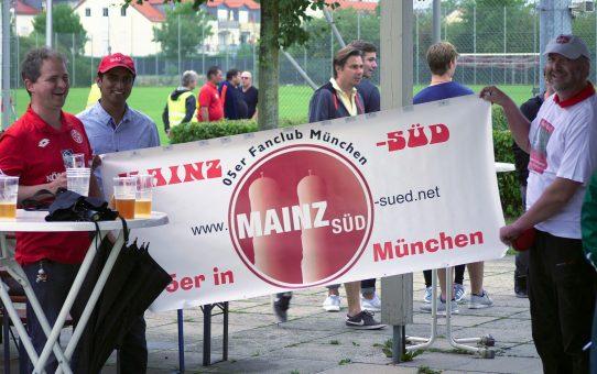 Zum Feierabend ein Heimspiel in München