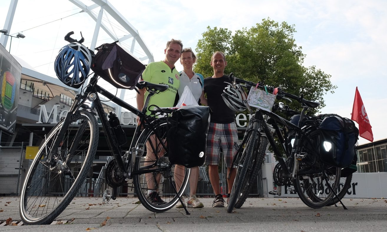 Alle 05 Jahre wieder: Mit dem Rad nach Stuttgart