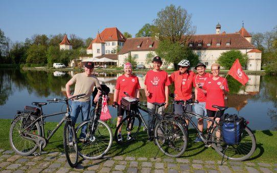 Zahlreich wie nie zuvor - Radtour nach Augsburg