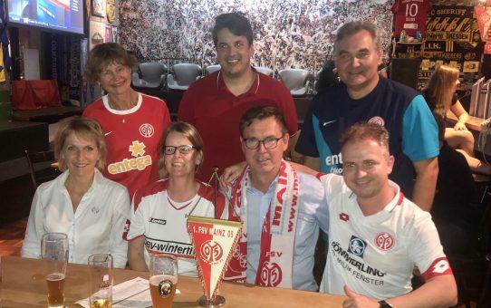 FSV-Vereinsführung und Mainz-Süd bewältigen gemeinsam erneuten Sixpack in München